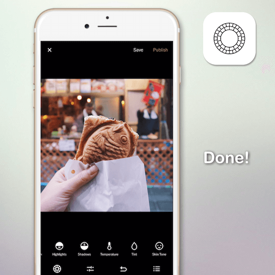 90 seconds to know about VSCO photo-editing app