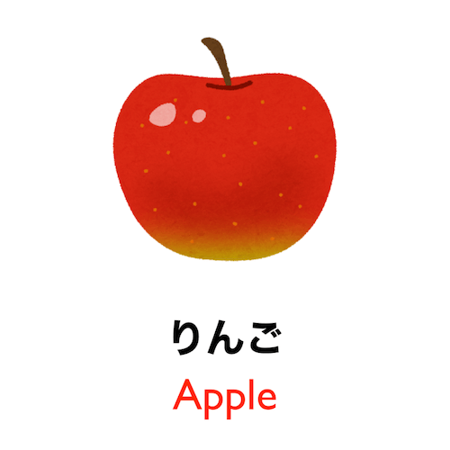 90 seconds to learn Japanese vocabulary - Theme: Fruit!