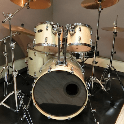 90 seconds to learn components of a basic drum kit