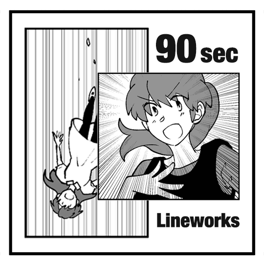 90 seconds to learn how to use lineworks effectively in manga