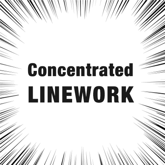 90 seconds to learn how to draw a concentrated linework
