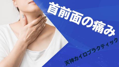 首前面の痛み - 格闘技で痛めがちな首の痛み解消講座