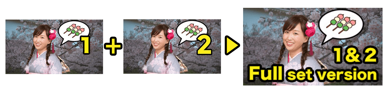 Japanese conversation for English speakers - Full set version