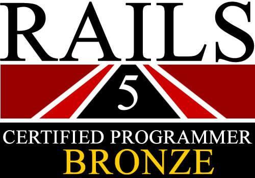 Rails技術者認定ブロンズ