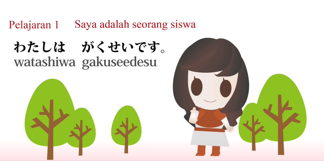 JLPT N5 Japanese online course in Bahasa Indonesia
