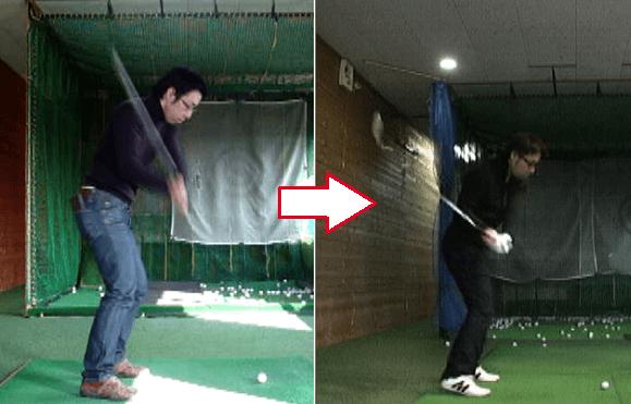 ドライバーゴルフ講座実例3
