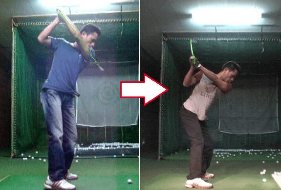 ドライバー基礎ゴルフ講座実例1