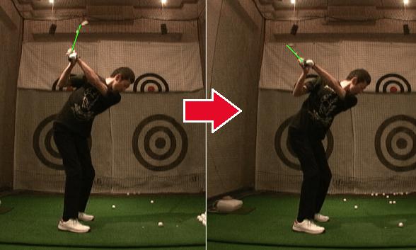 ドライバー基礎ゴルフ講座実例2