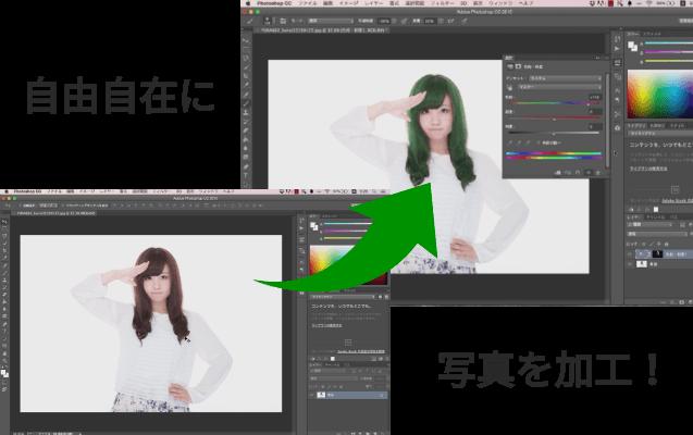 Photoshopで自由自在に画像を加工できるオンライン学習講座